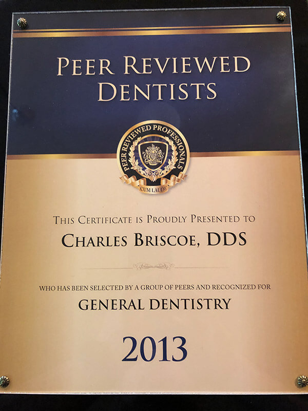 Peer Reviewed Dentists