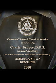 America's Top Dentists 2010 - Dr. Charls Briscoe